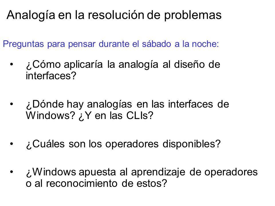 Analogía en la resolución de problemas