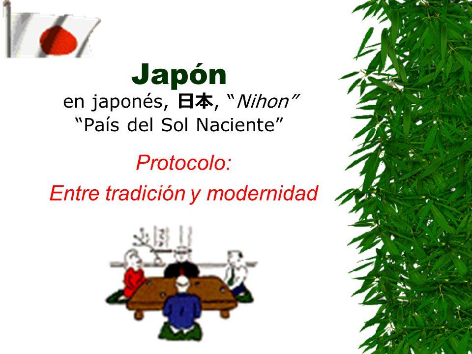 Japón en japonés, 日本, Nihon País del Sol Naciente