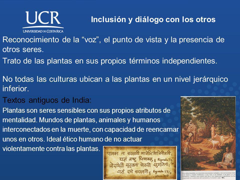 Inclusión y diálogo con los otros