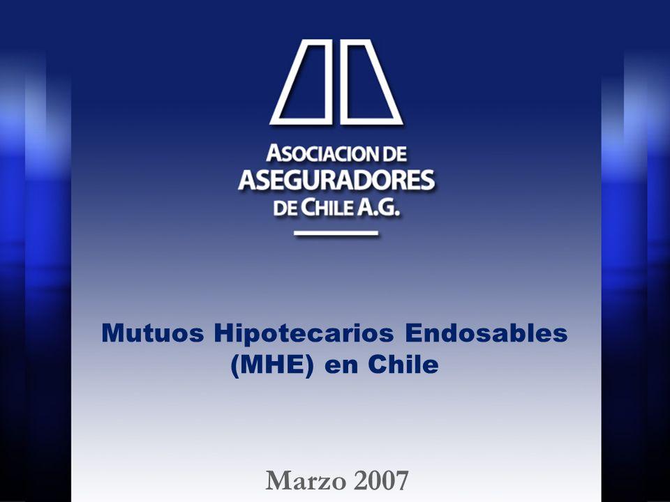 Mutuos Hipotecarios Endosables (MHE) en Chile