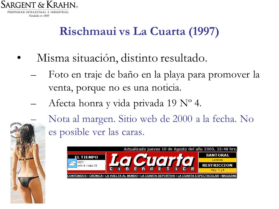 Rischmaui vs La Cuarta (1997)
