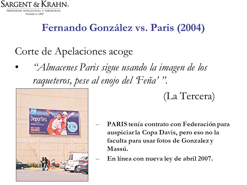 Fernando González vs. Paris (2004)