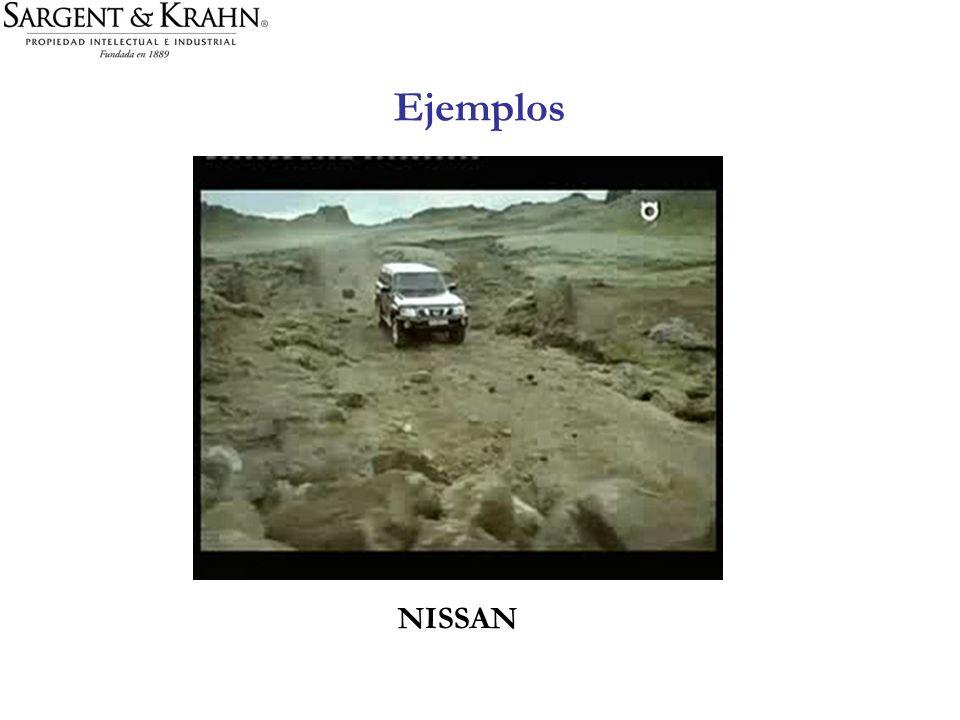 Ejemplos NISSAN