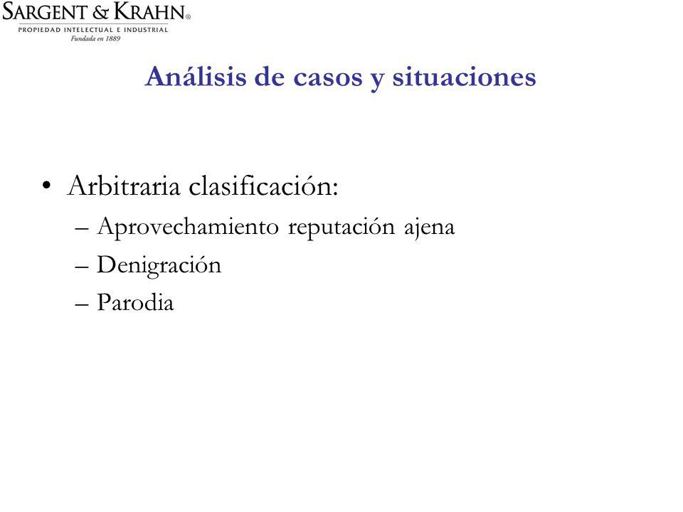 Análisis de casos y situaciones