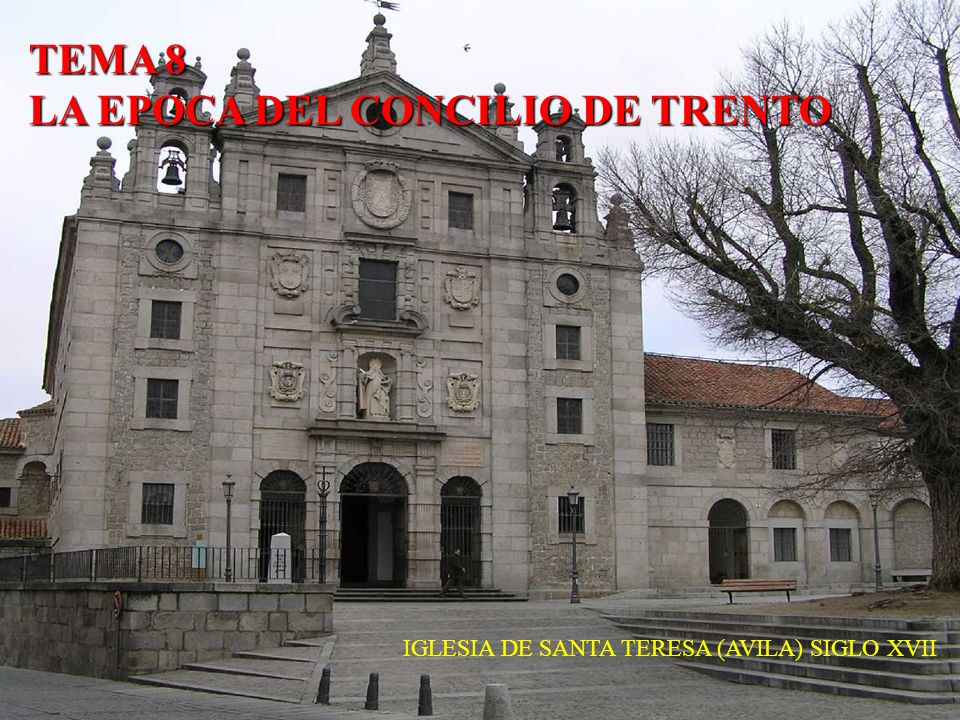 IGLESIA DE SANTA TERESA (AVILA) SIGLO XVII