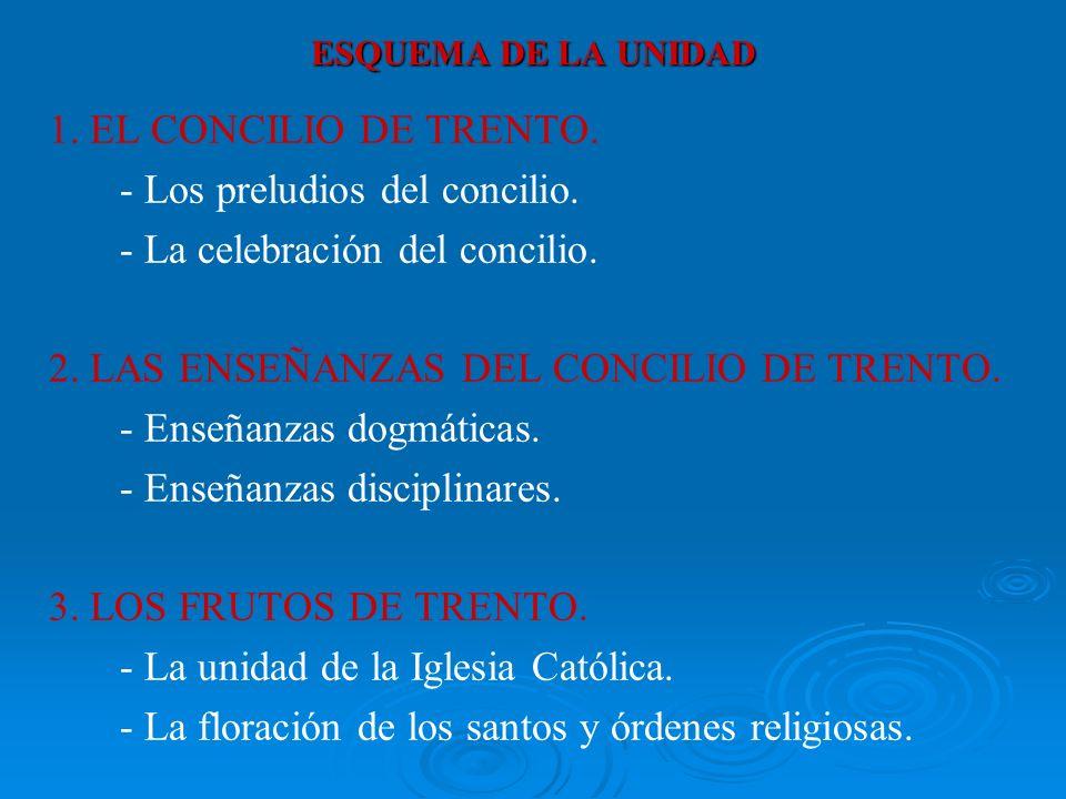 - Los preludios del concilio. - La celebración del concilio.