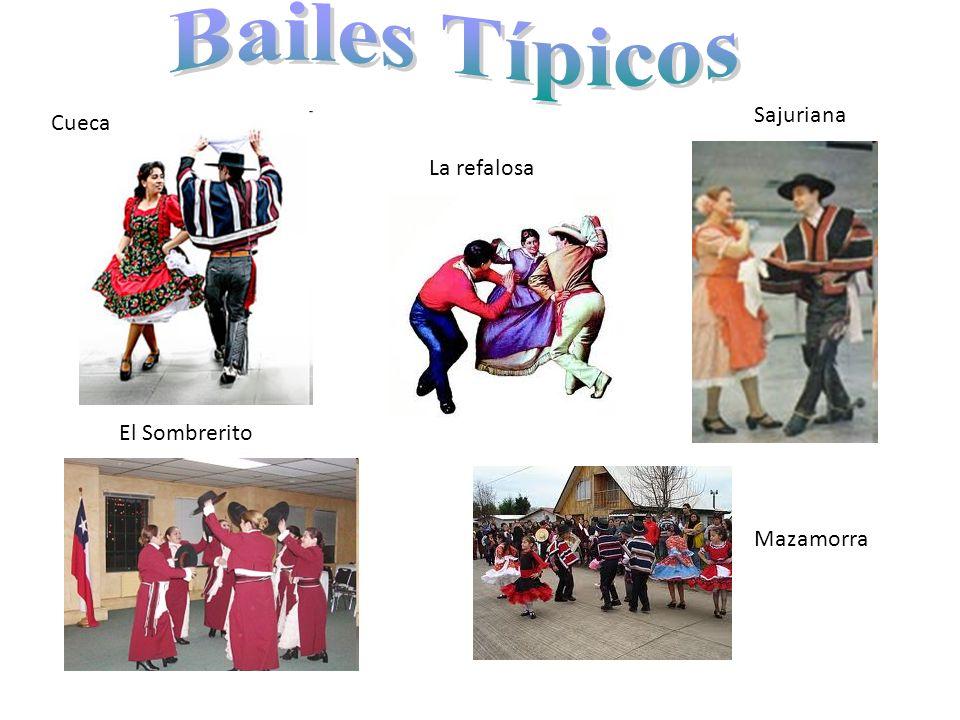 Bailes Típicos Sajuriana Cueca La refalosa El Sombrerito Mazamorra
