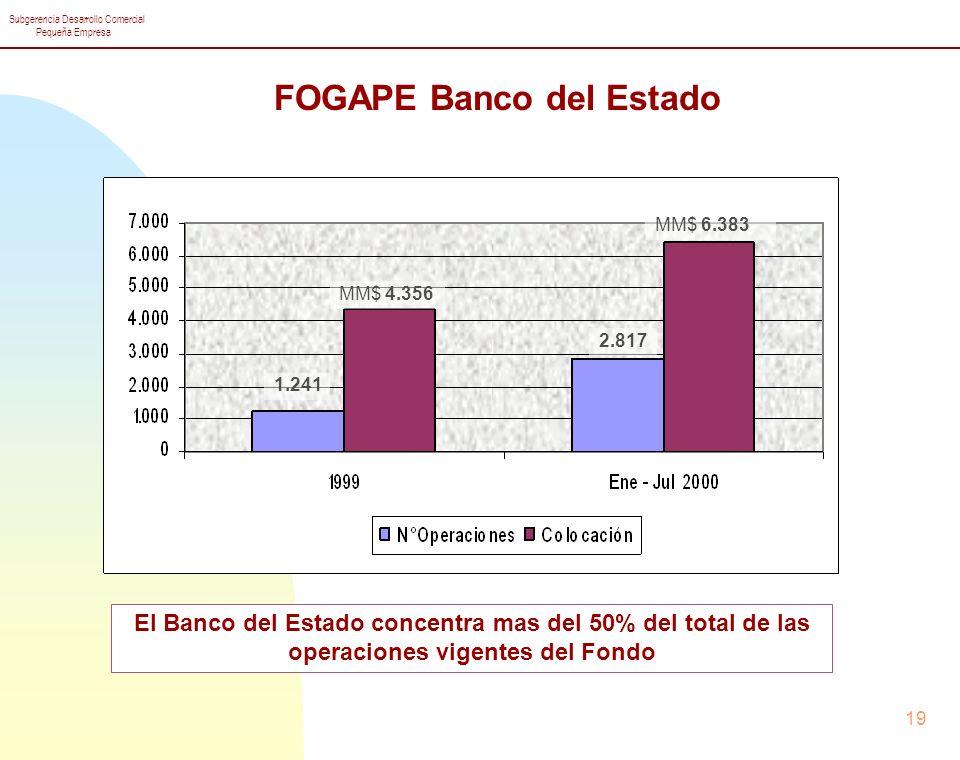 FOGAPE Banco del Estado
