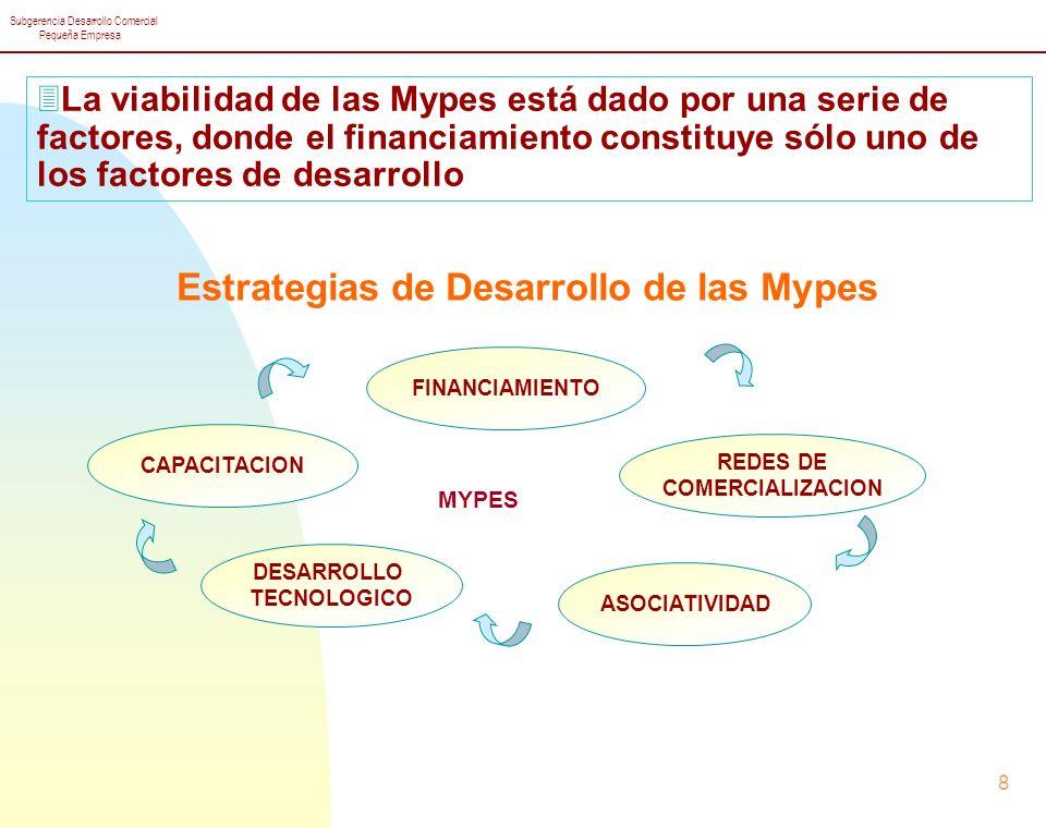Estrategias de Desarrollo de las Mypes