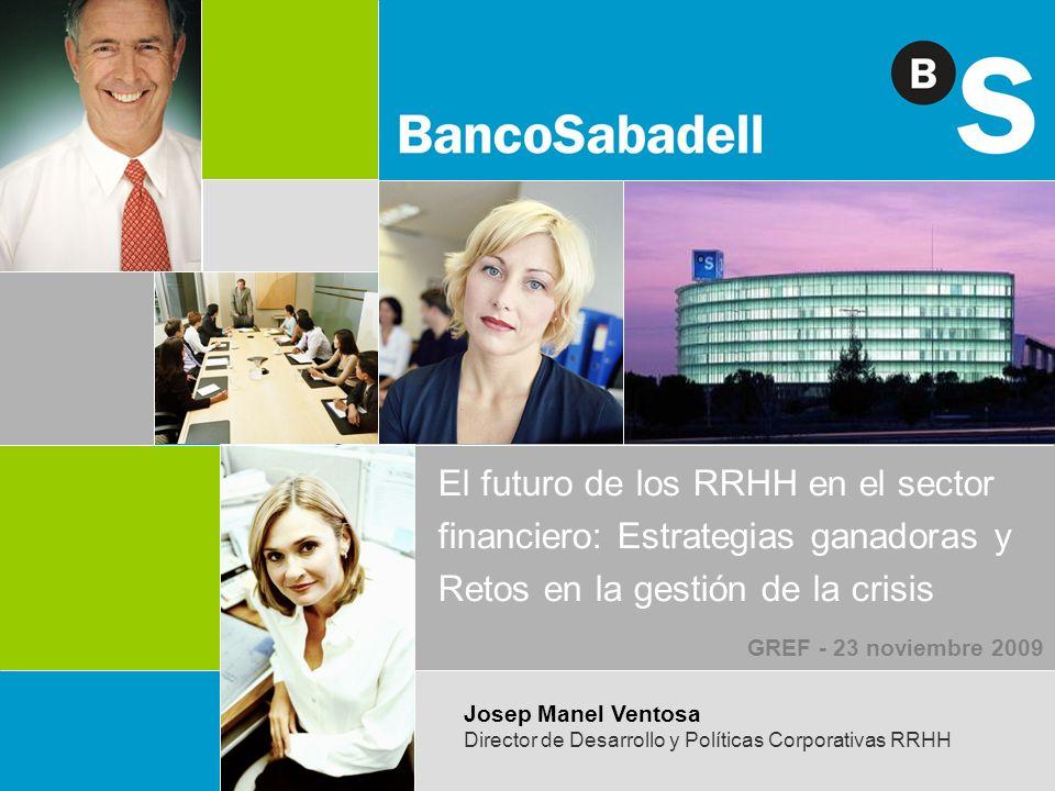 El futuro de los RRHH en el sector financiero: Estrategias ganadoras y Retos en la gestión de la crisis