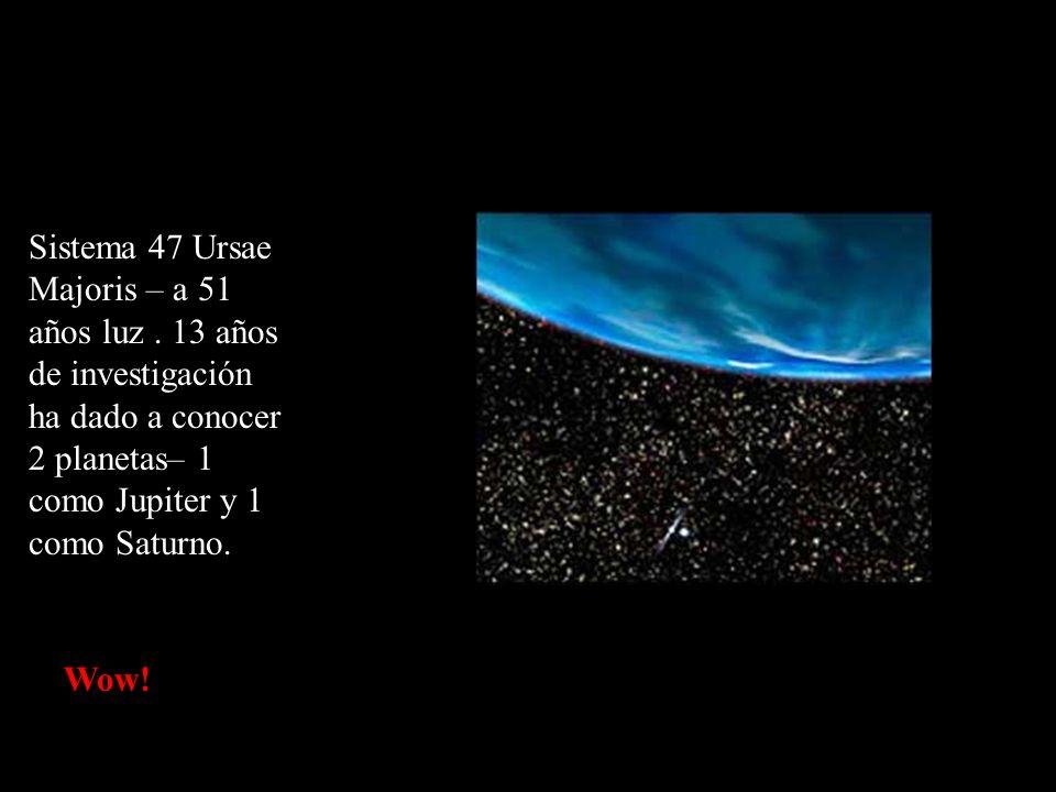 Sistema 47 Ursae Majoris – a 51 años luz