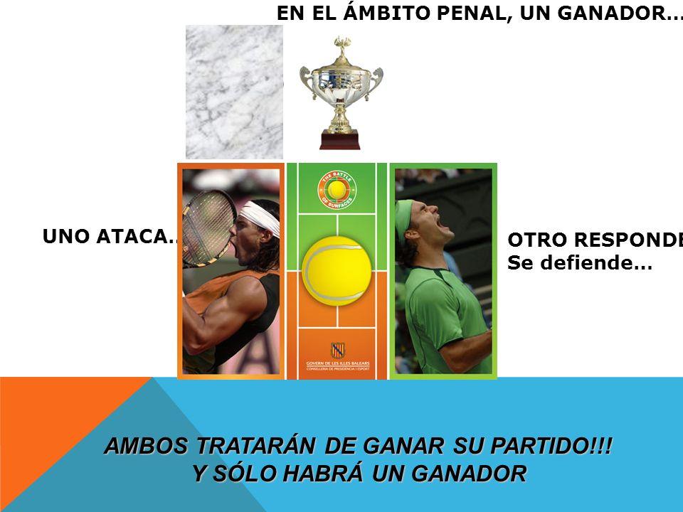 AMBOS TRATARÁN DE GANAR SU PARTIDO!!!