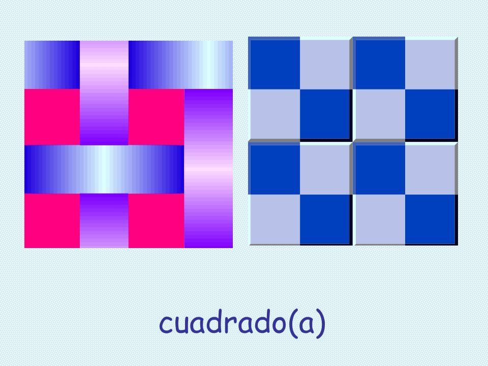 cuadrado(a)