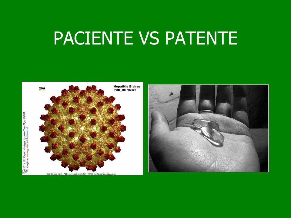 PACIENTE VS PATENTE