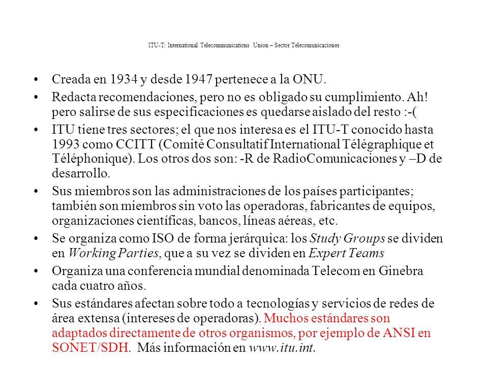 Creada en 1934 y desde 1947 pertenece a la ONU.