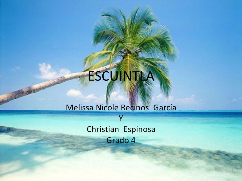 Melissa Nicole Recinos García Y Christian Espinosa Grado 4
