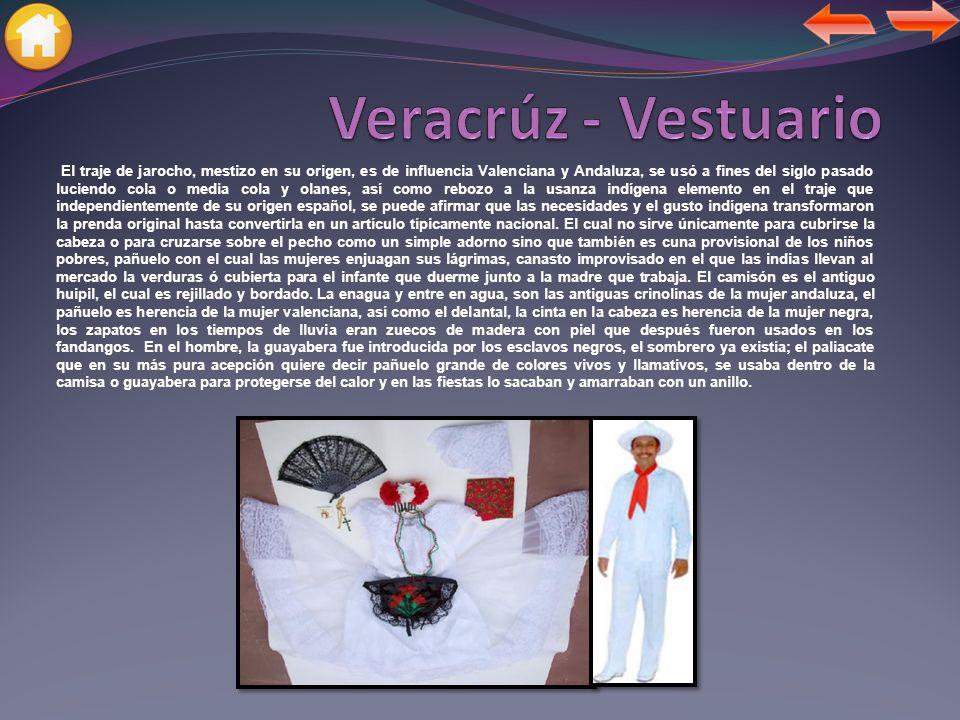 Veracrúz - Vestuario