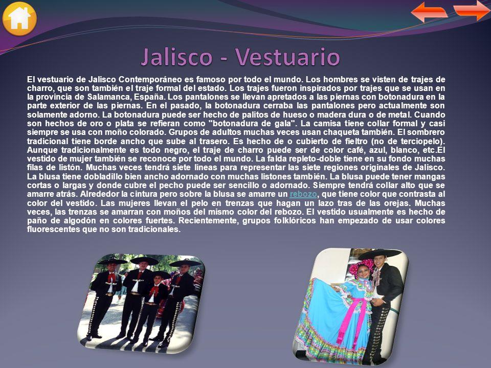 Jalisco - Vestuario