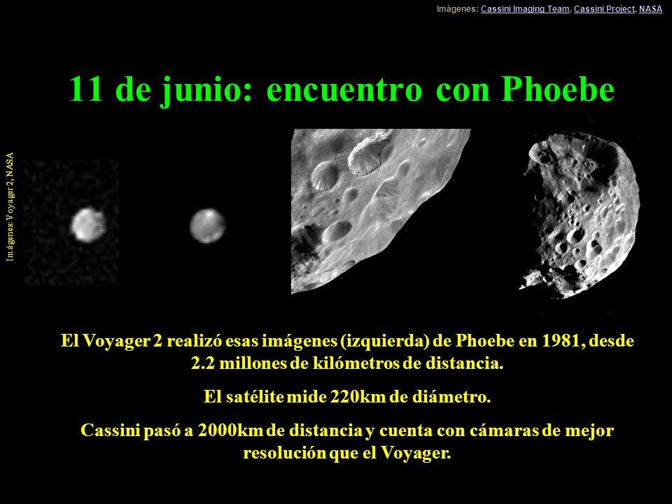 11 de junio: encuentro con Phoebe