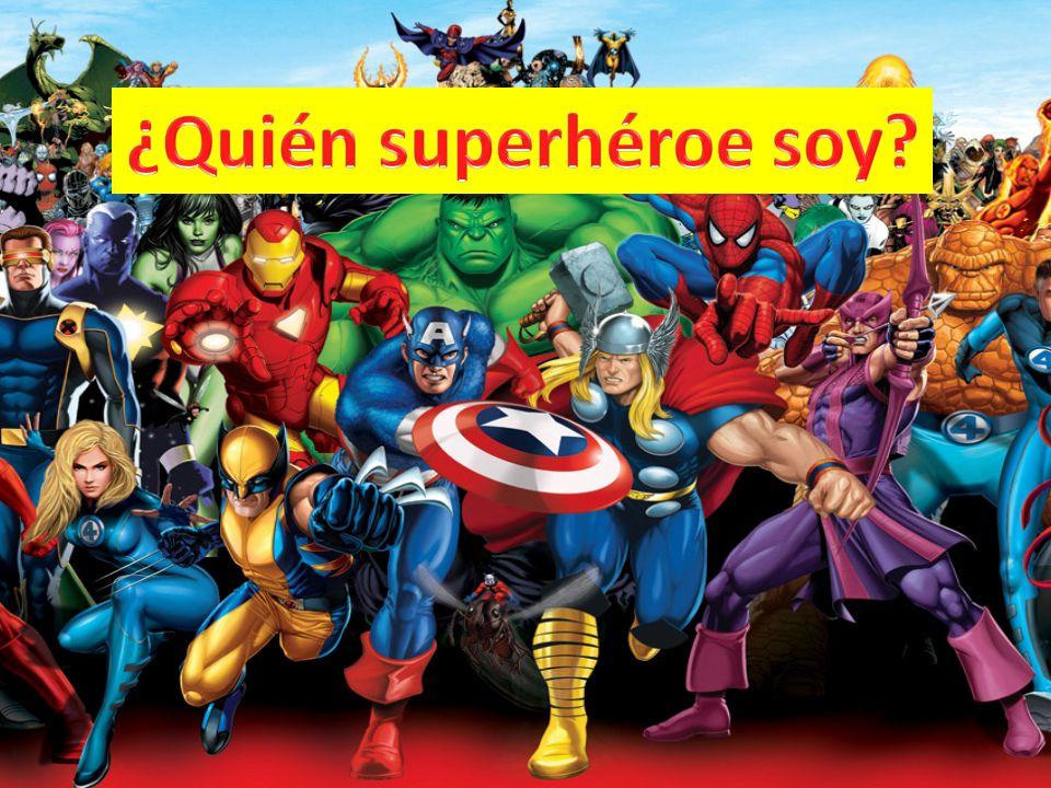 ¿Quién superhéroe soy