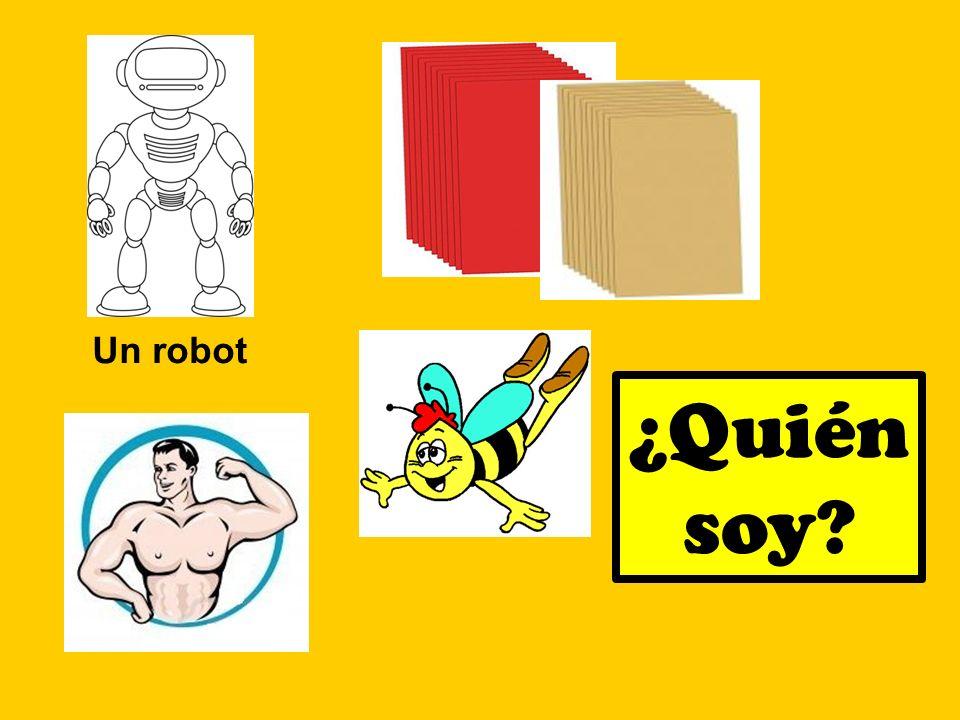 Un robot ¿Quién soy