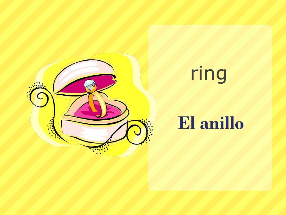 ring El anillo