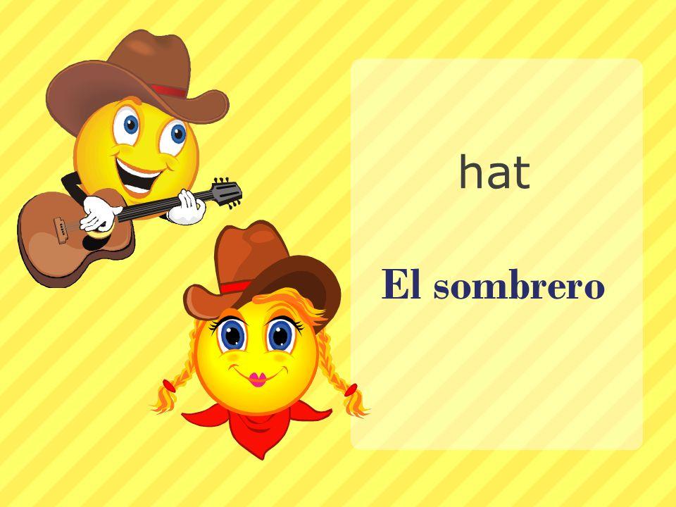 hat El sombrero