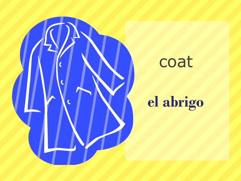 coat el abrigo