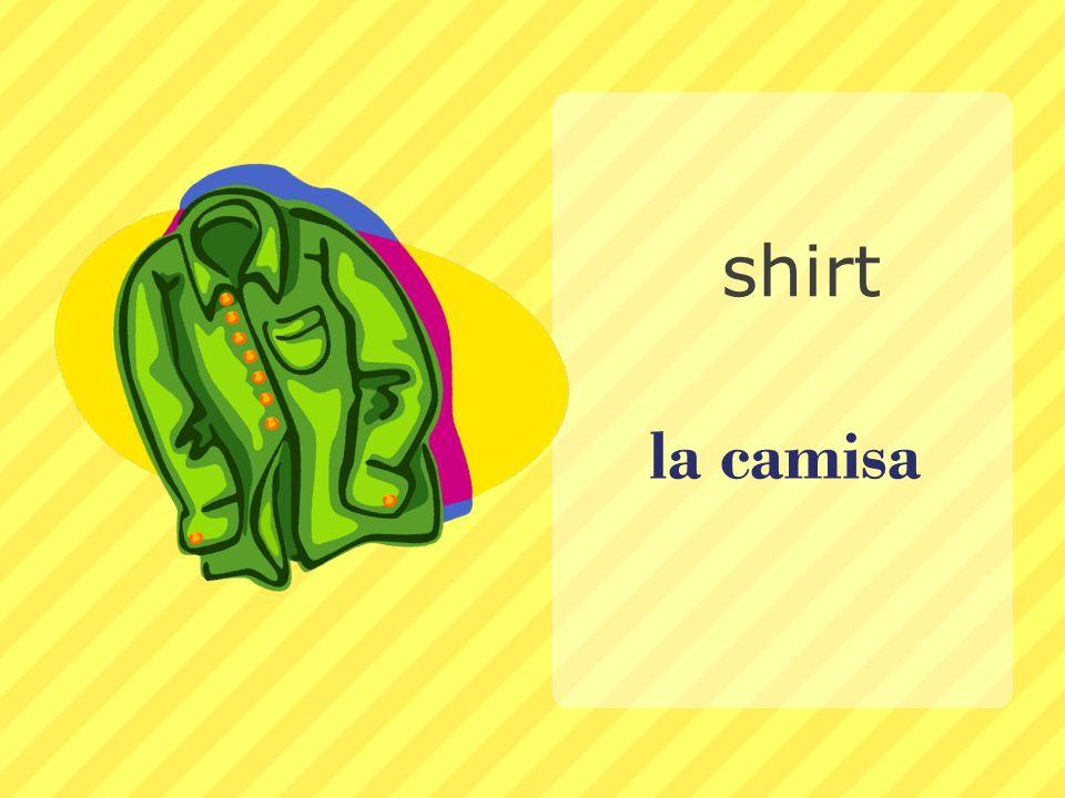 shirt la camisa