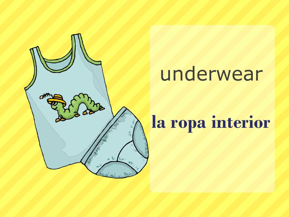 underwear la ropa interior