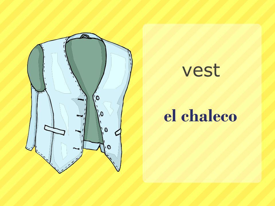 vest el chaleco