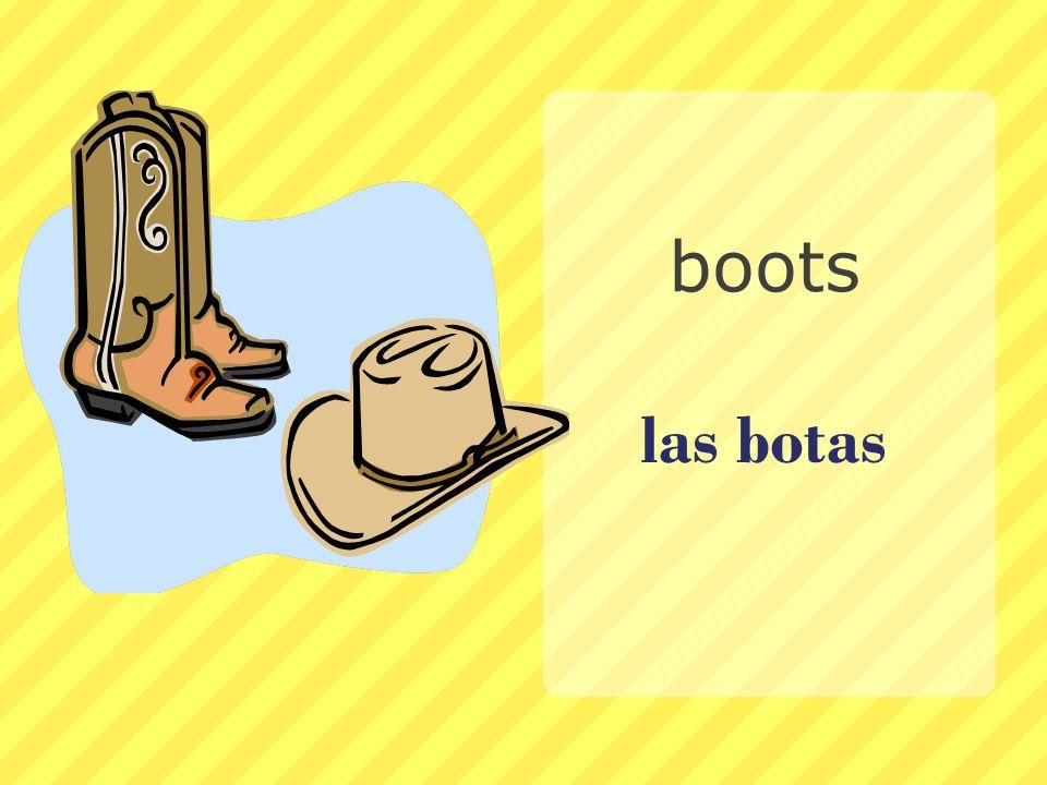 boots las botas