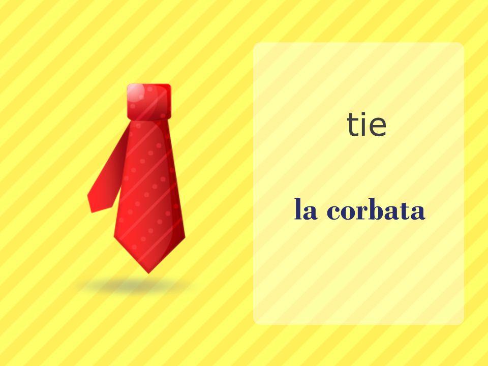 tie la corbata