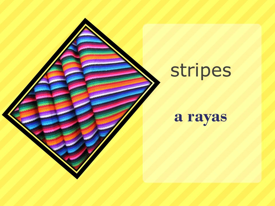 stripes a rayas