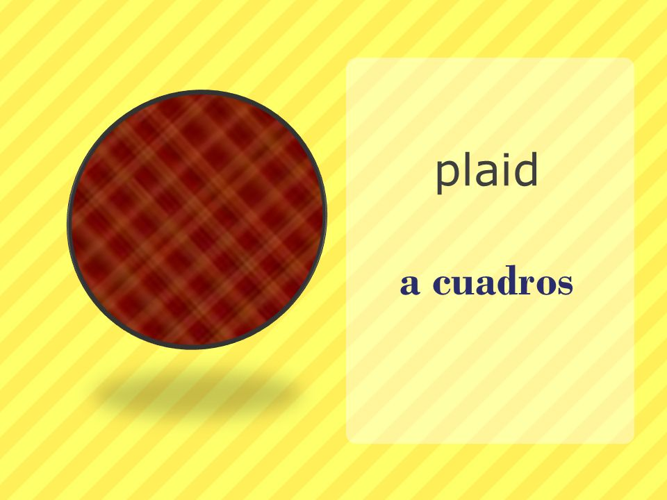 plaid a cuadros