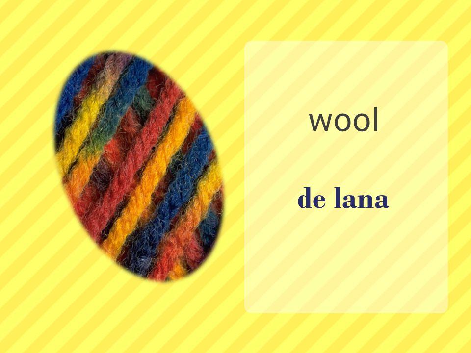 wool de lana