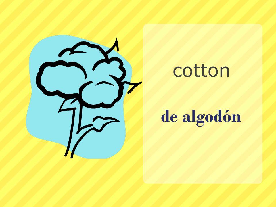 cotton de algodón