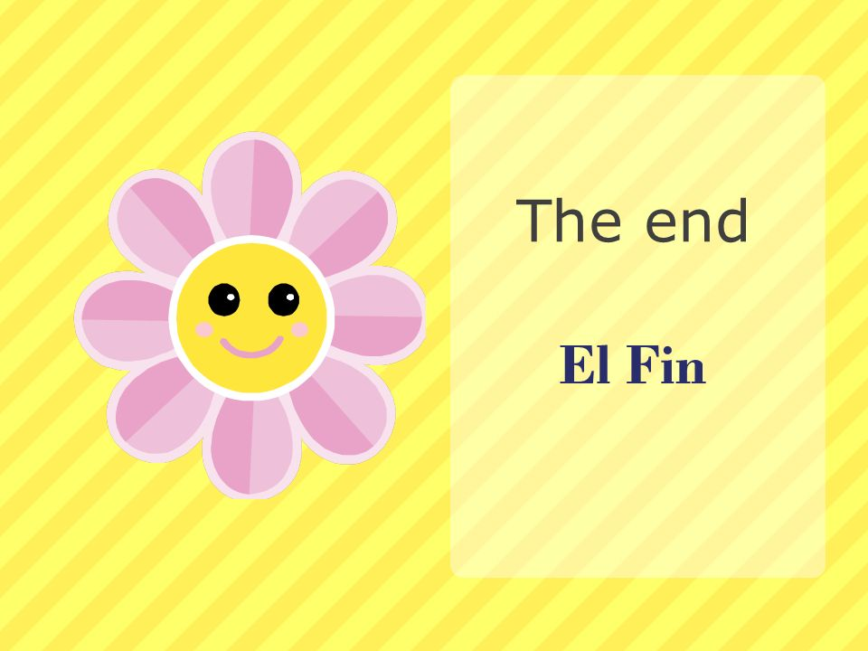The end El Fin