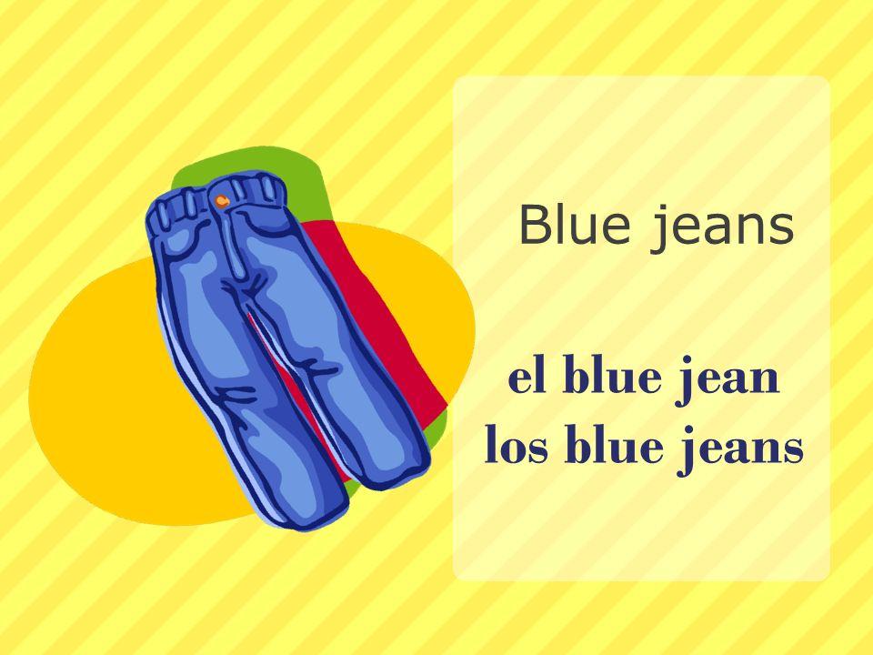 el blue jean los blue jeans