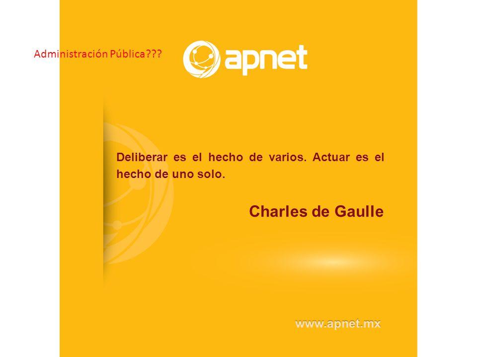 Charles de Gaulle Administración Pública
