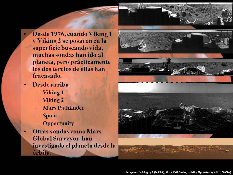 Desde 1976, cuando Viking 1 y Viking 2 se posaron en la superficie buscando vida, muchas sondas han ido al planeta, pero prácticamente los dos tercios de ellas han fracasado.