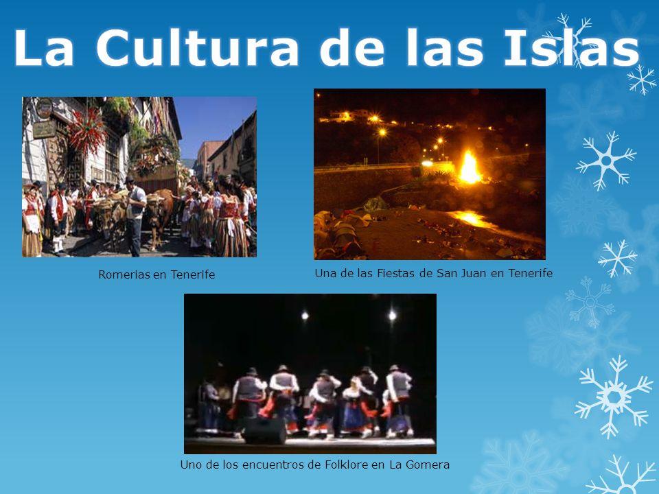La Cultura de las Islas Romerias en Tenerife