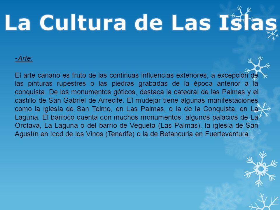 La Cultura de Las Islas -Arte: