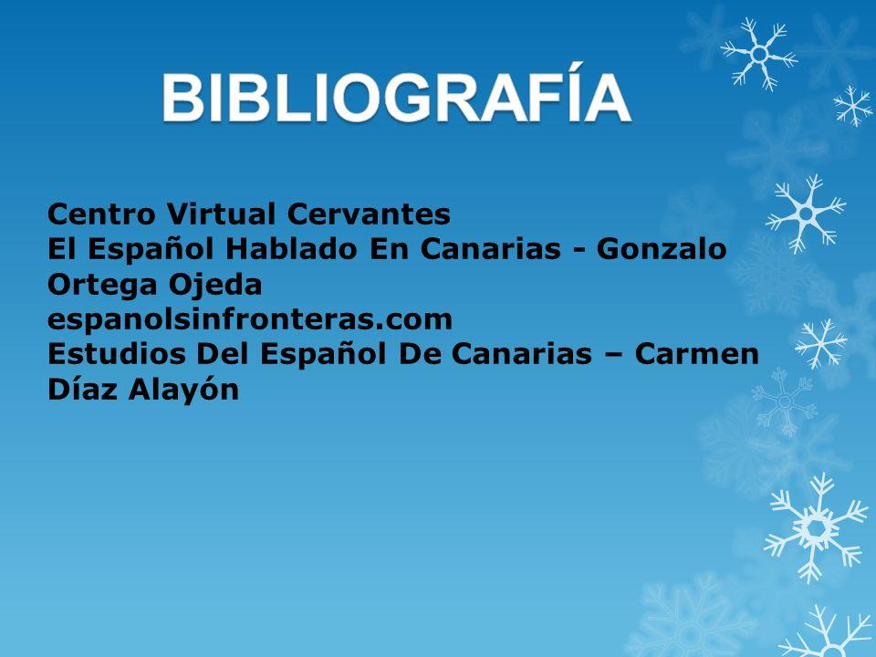 BIBLIOGRAFÍA Centro Virtual Cervantes