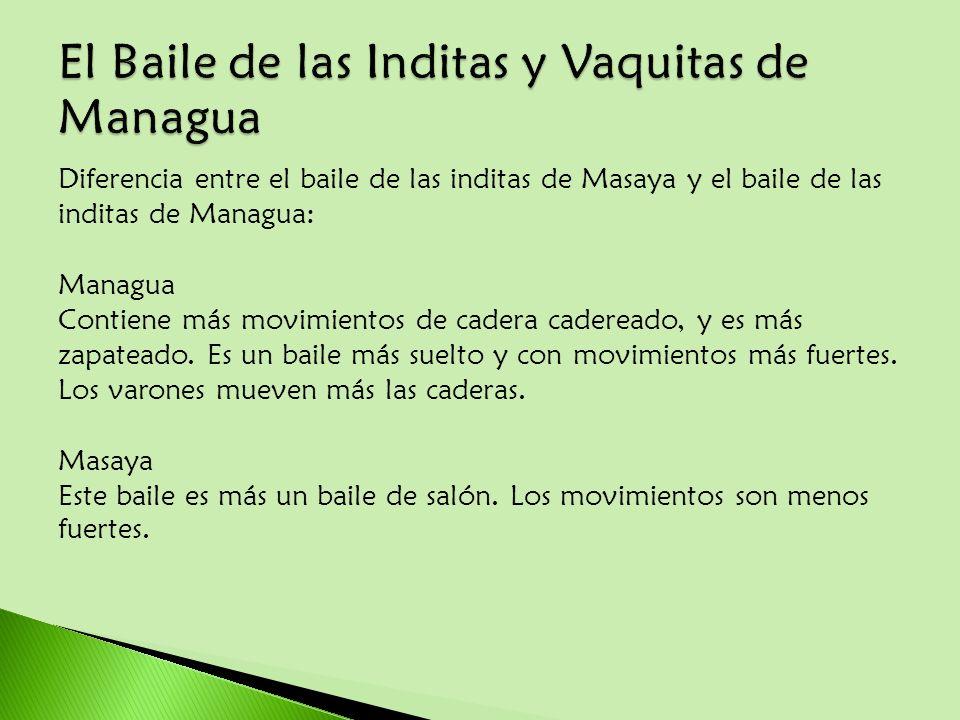 El Baile de las Inditas y Vaquitas de Managua