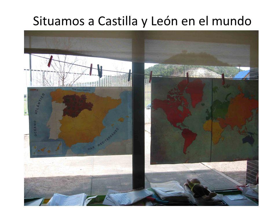 Situamos a Castilla y León en el mundo