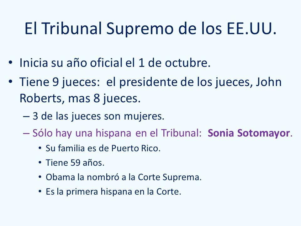 El Tribunal Supremo de los EE.UU.
