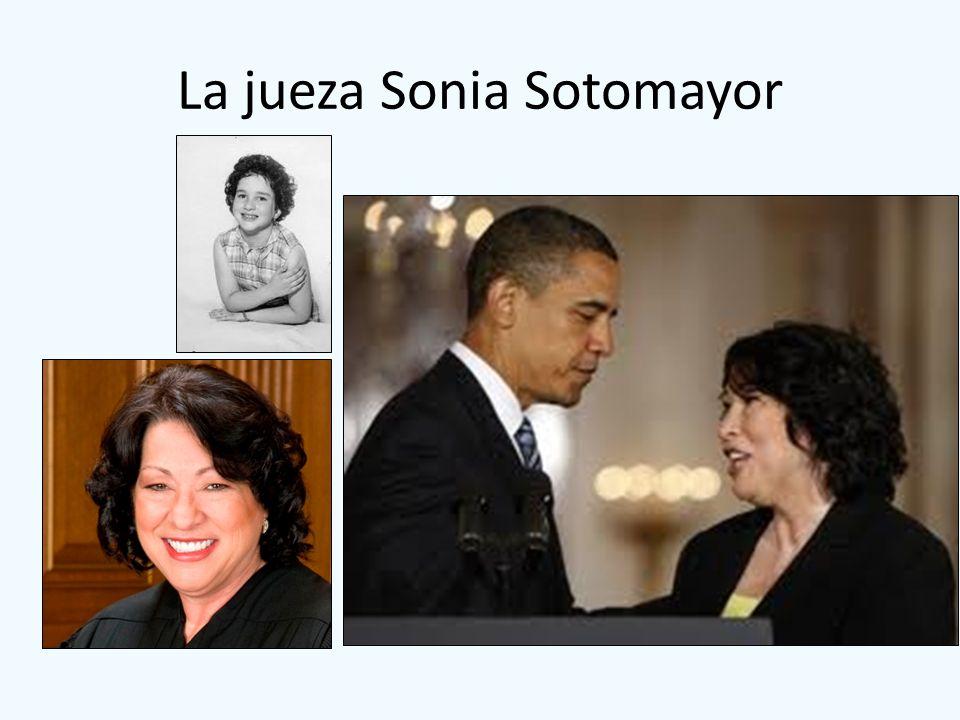 La jueza Sonia Sotomayor