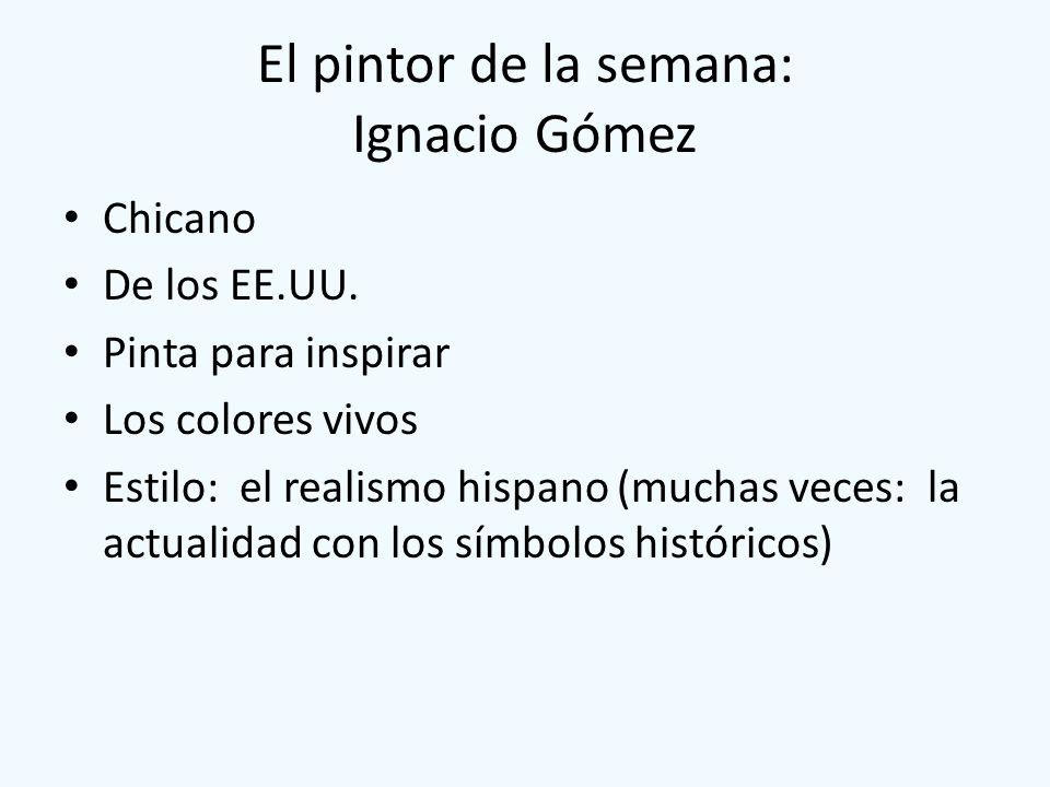 El pintor de la semana: Ignacio Gómez