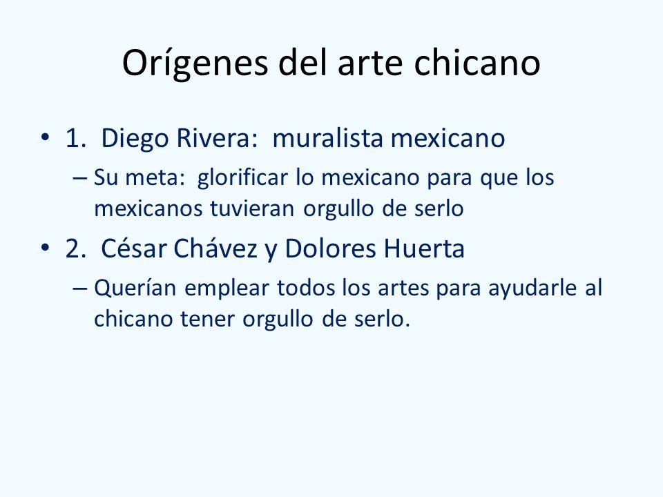 Orígenes del arte chicano